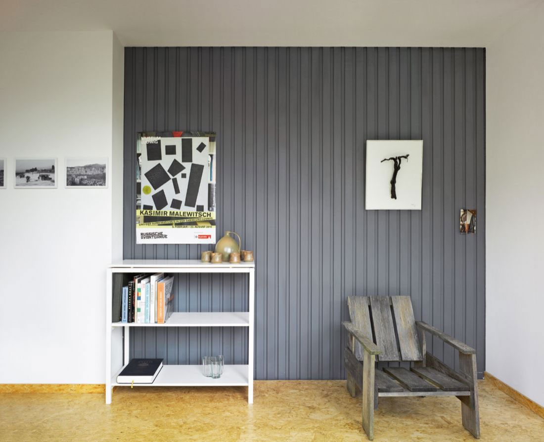 Art, Chairs, Container House in Kall, Germany