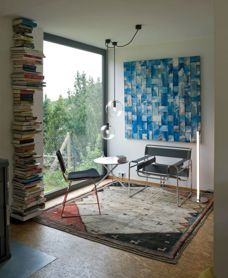 Art, Lighting, Chairs, Container House in Kall, Germany