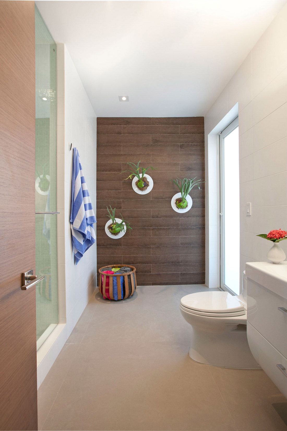 Bathroom, Stylish Interior Design in Miami, Florida