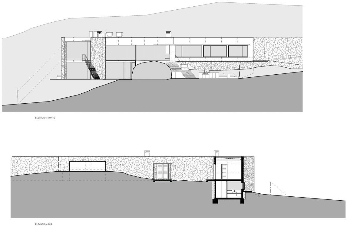 Elevation, Oceanfront Holiday Houses in Punta Pite, Chile