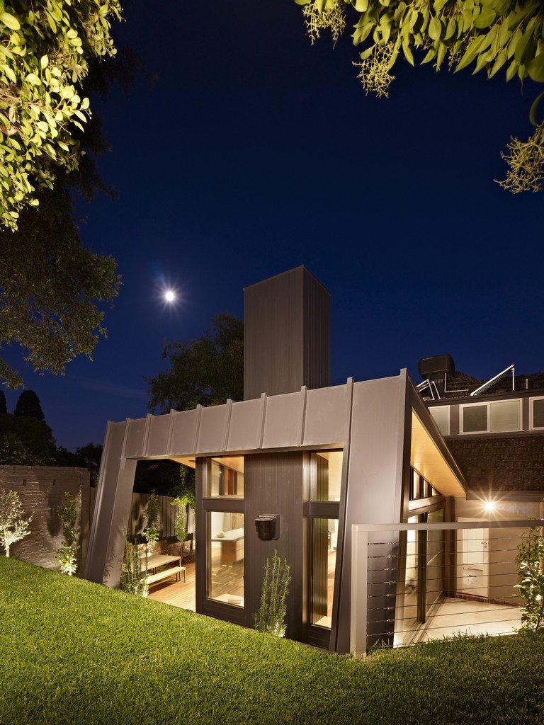 Evening, Modern Renovation & Extension in Melbourne, Australia