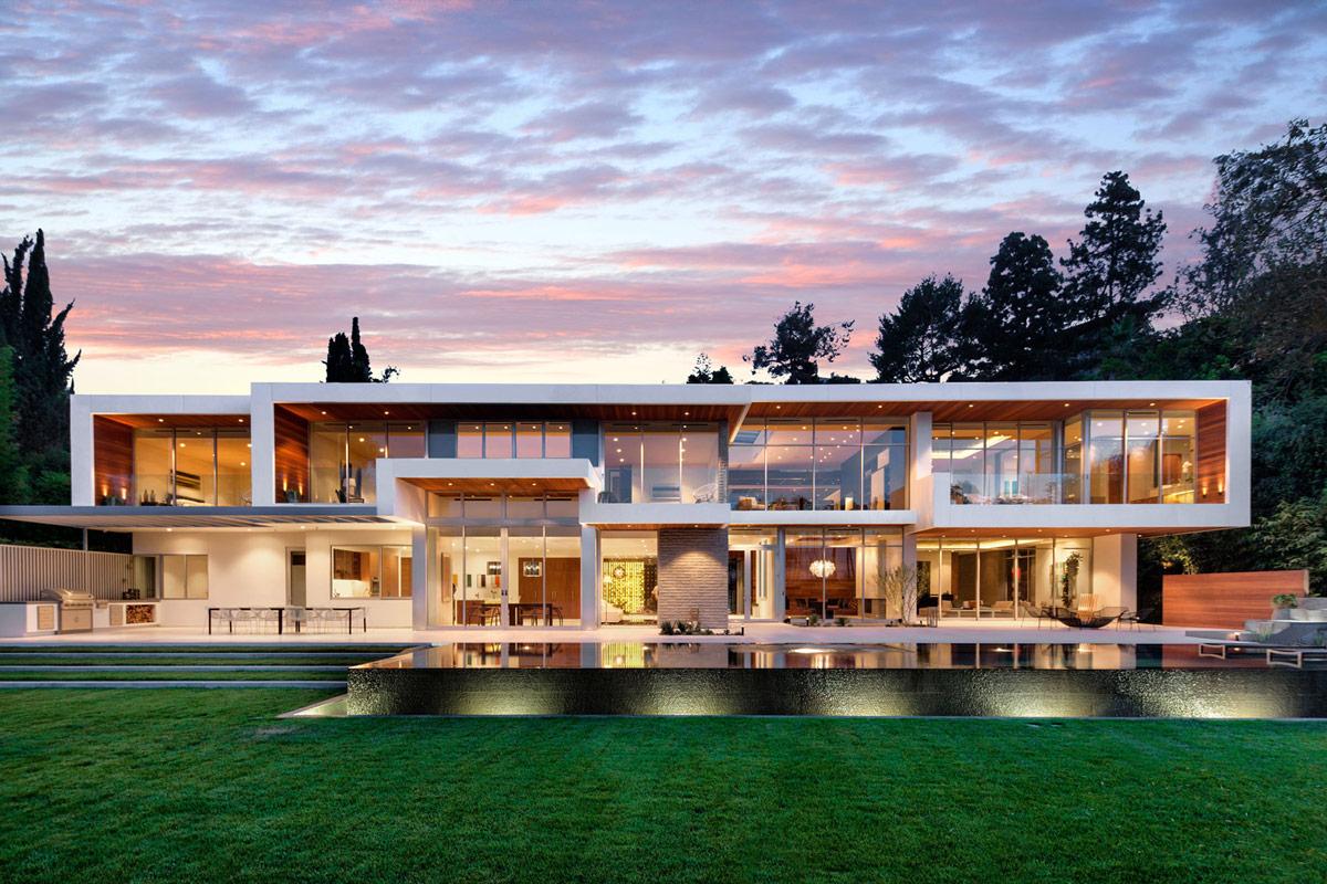 Magnificent Modern Home on Sunset Strip