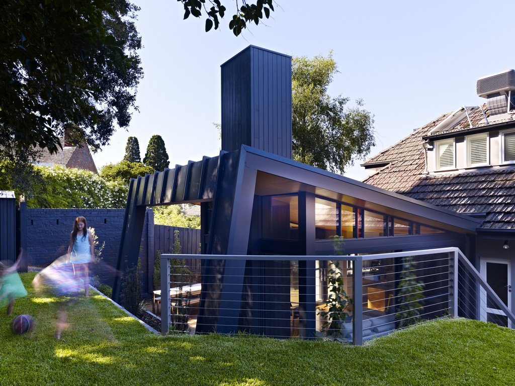 Garden, Modern Renovation & Extension in Melbourne, Australia