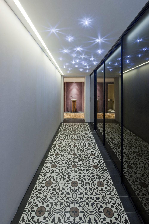 Hallway, Farmhouse Conversion in Genf, Switzerland