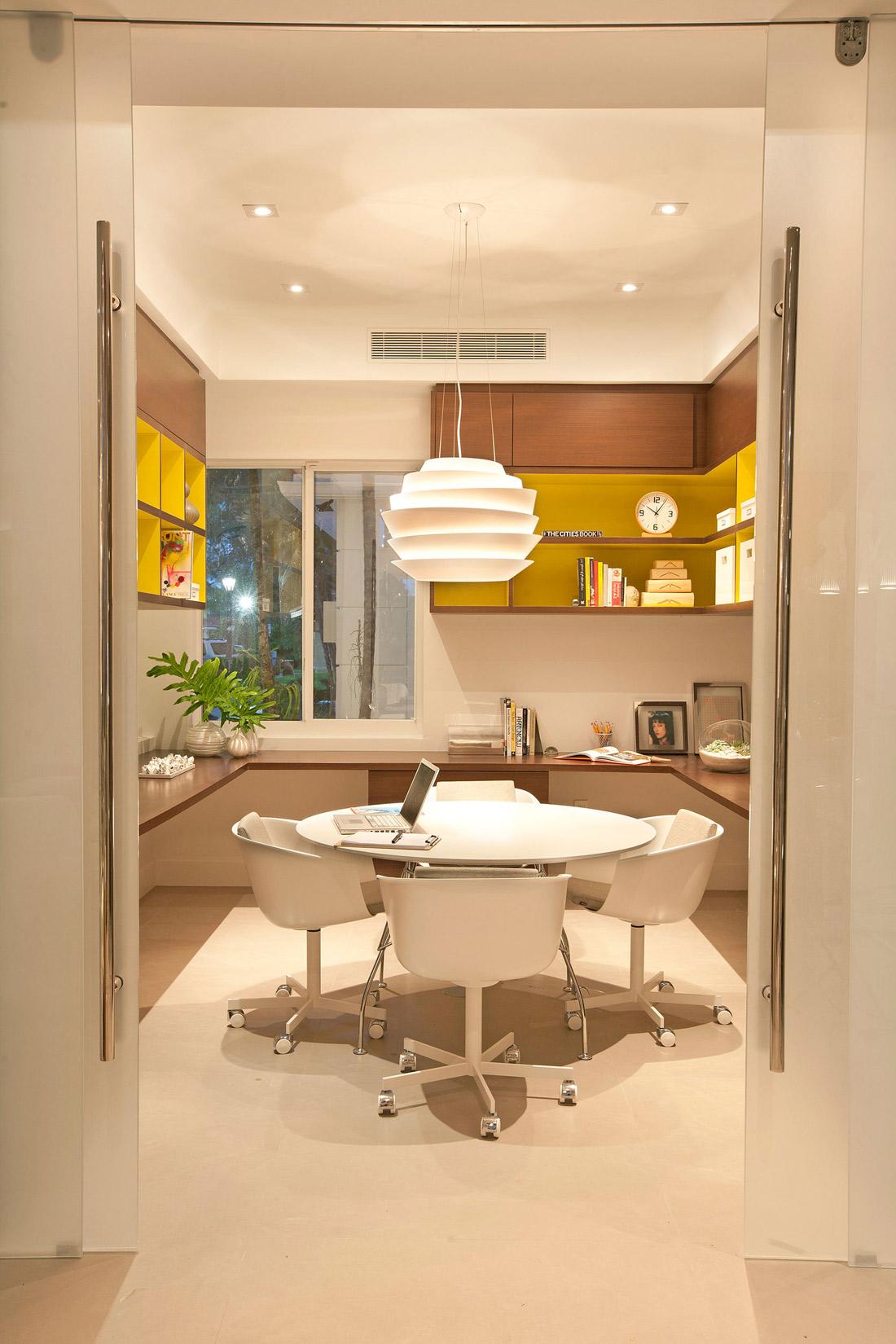 Home Office, Stylish Interior Design in Miami, Florida