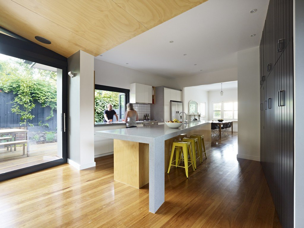 Kitchen, Dining, Open Plan Living, Modern Renovation & Extension in Melbourne, Australia