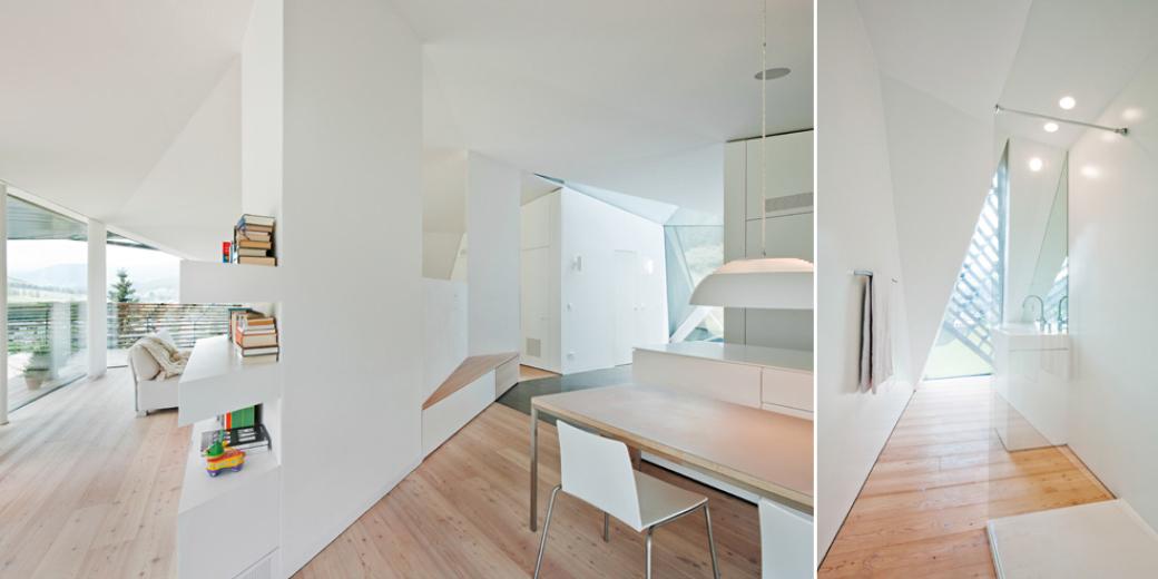 Living, Dining, Bathroom, Paramount – Alma Residence in Sesto, Italy