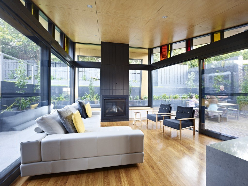 Living Room Extensions Interesting Living Room Modern Renovation & Extension In Melbourne Australia Design Ideas