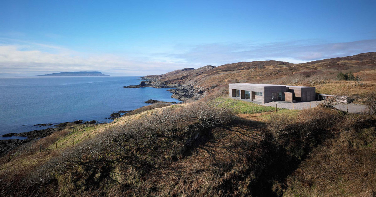 Panoramic Sea Views, Contemporary Home on the Isle of Skye, Scotland