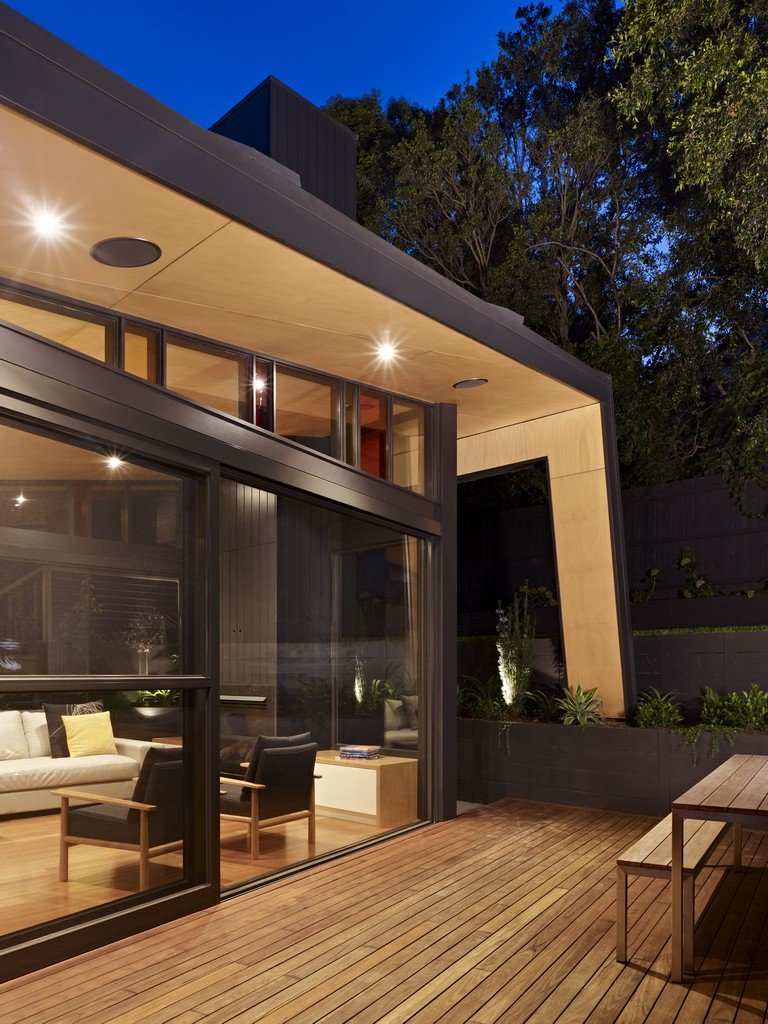 Patio Doors, Wooden Flooring, Modern Renovation & Extension in Melbourne, Australia