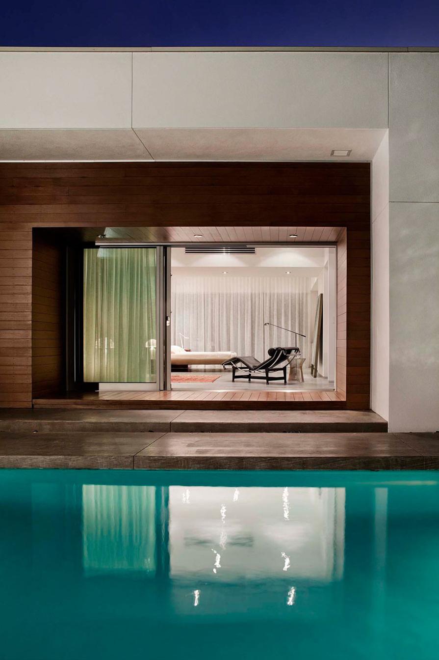 Pool, Patio Doors, Eco-Friendly Contemporary Home in Winter Haven, Florida