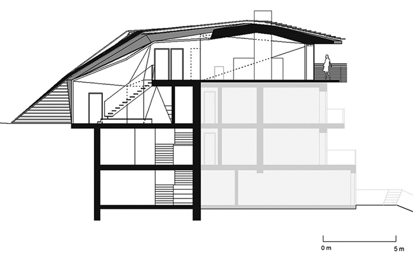 Section, Paramount – Alma Residence in Sesto, Italy