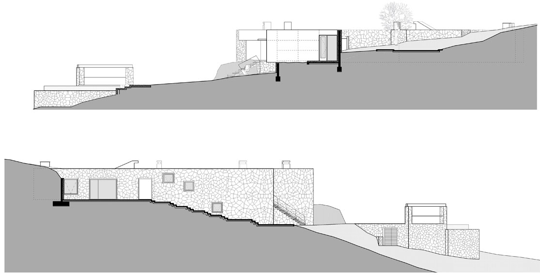 Section, Oceanfront Holiday Houses in Punta Pite, Chile