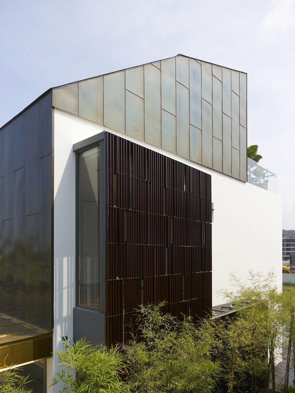 Architecture, Minimalist Contemporary Home in Singapore