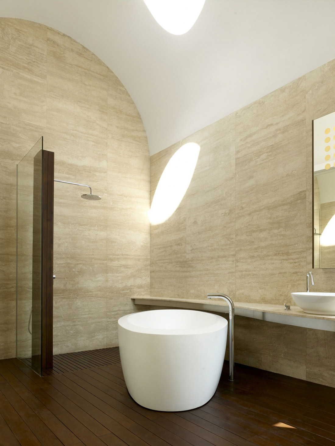 Bath, Shower, Minimalist Contemporary Home in Singapore