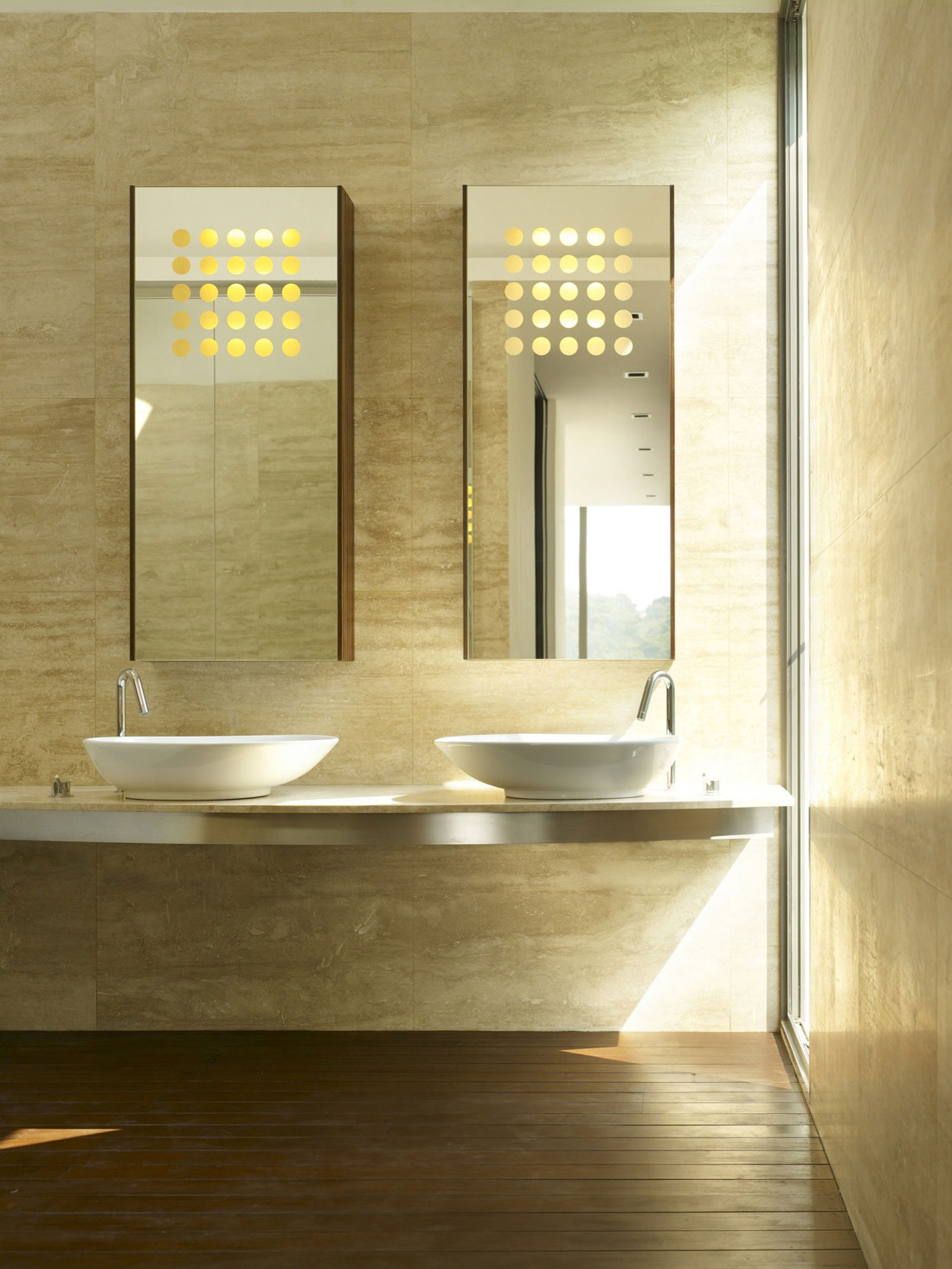Bathroom, Minimalist Contemporary Home in Singapore