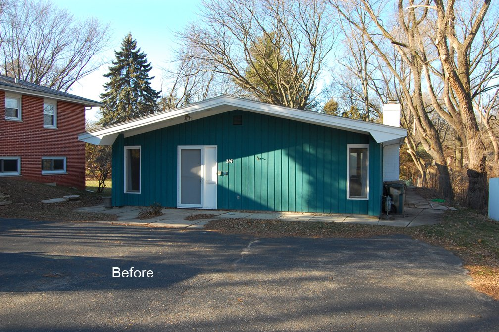 Before, Home Renovation in Madison, Wisconsin