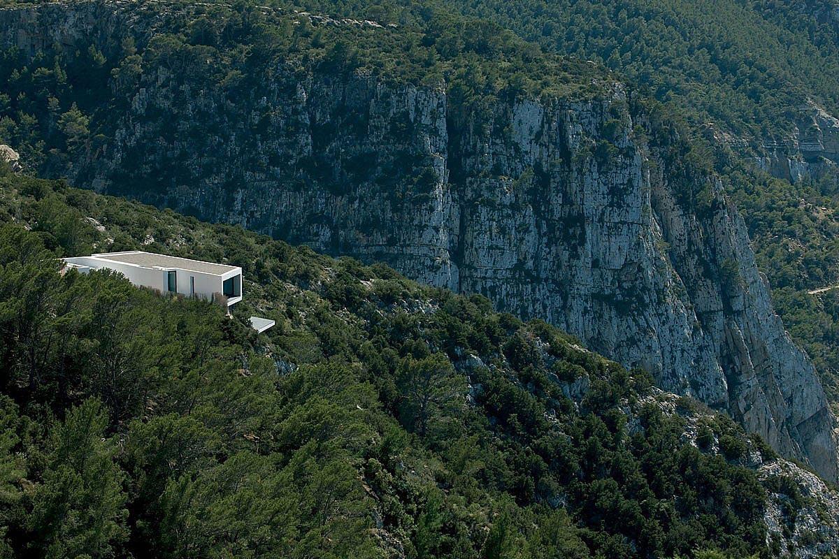 Cliffs, Stunning Clifftop Home in Ibiza, Spain