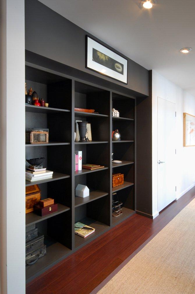 Dark Shelves, Home Renovation in Madison, Wisconsin