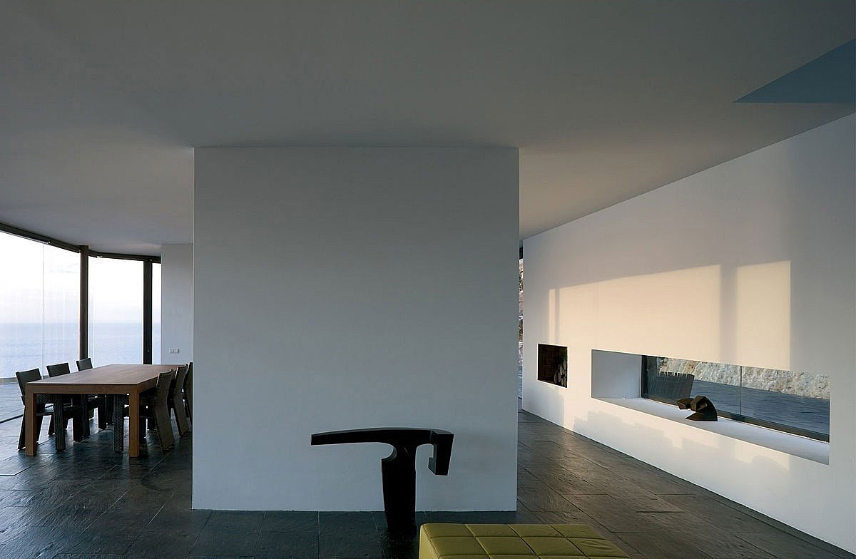 Dining Space, Stunning Clifftop Home in Ibiza, Spain