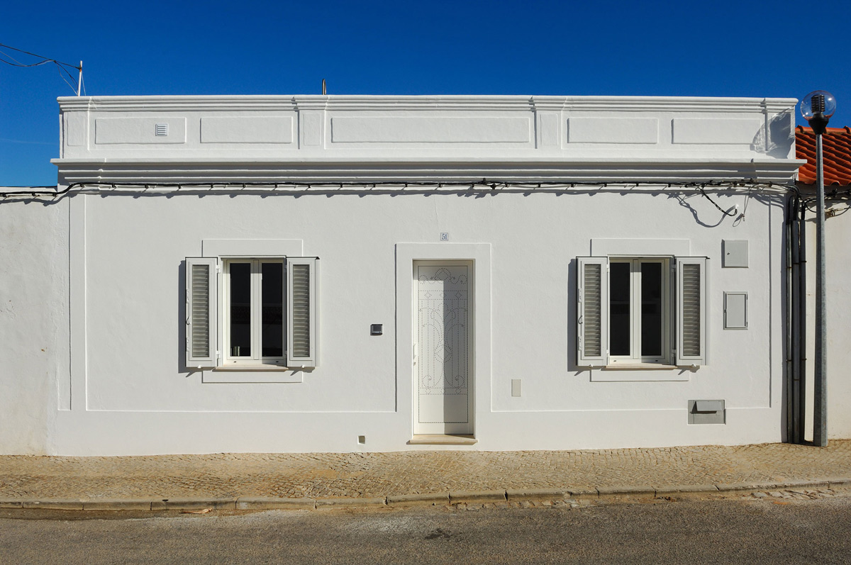 Entrance, Street View, Home in Silves, Portugal
