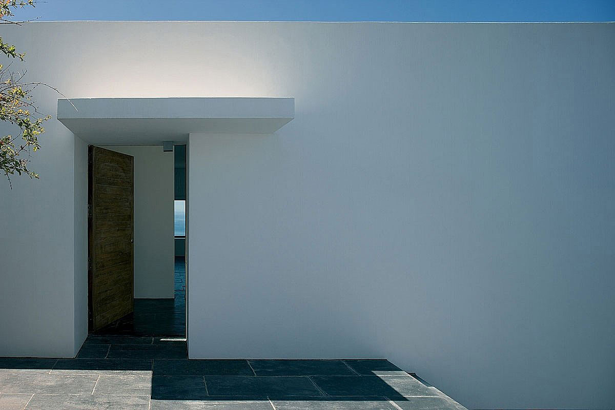 Entrance, Stunning Clifftop Home in Ibiza, Spain