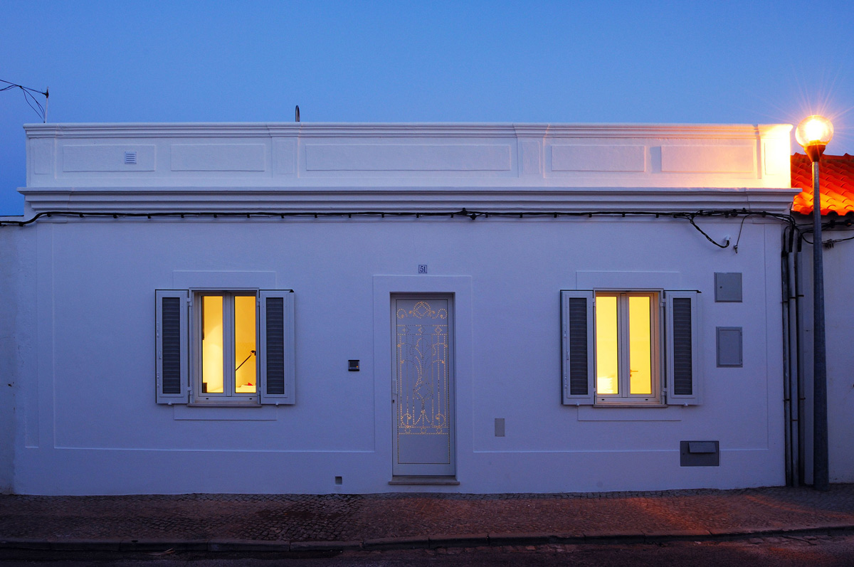 Evening, Lighting, Home in Silves, Portugal