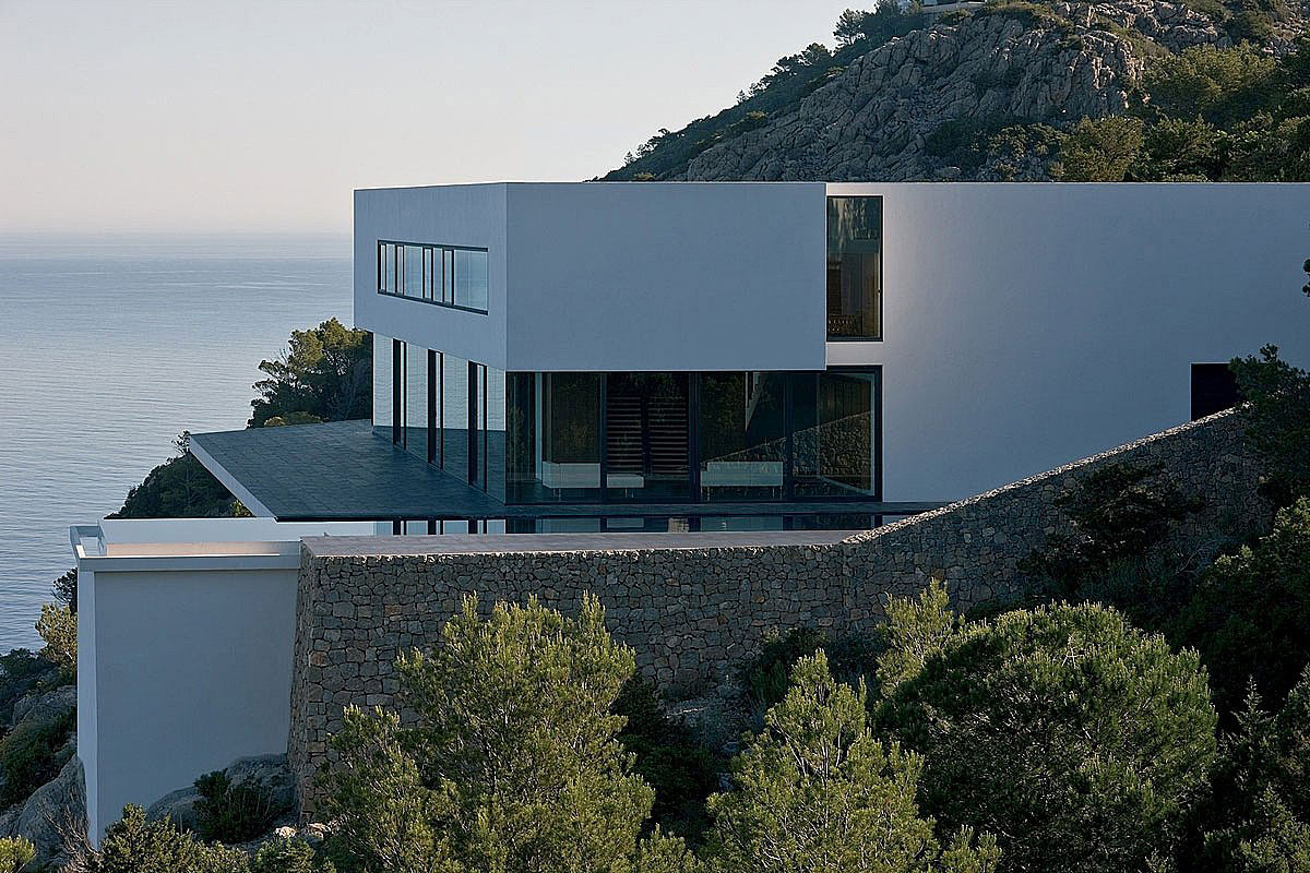 Infinity Pool, Terrace, Stunning Clifftop Home in Ibiza, Spain