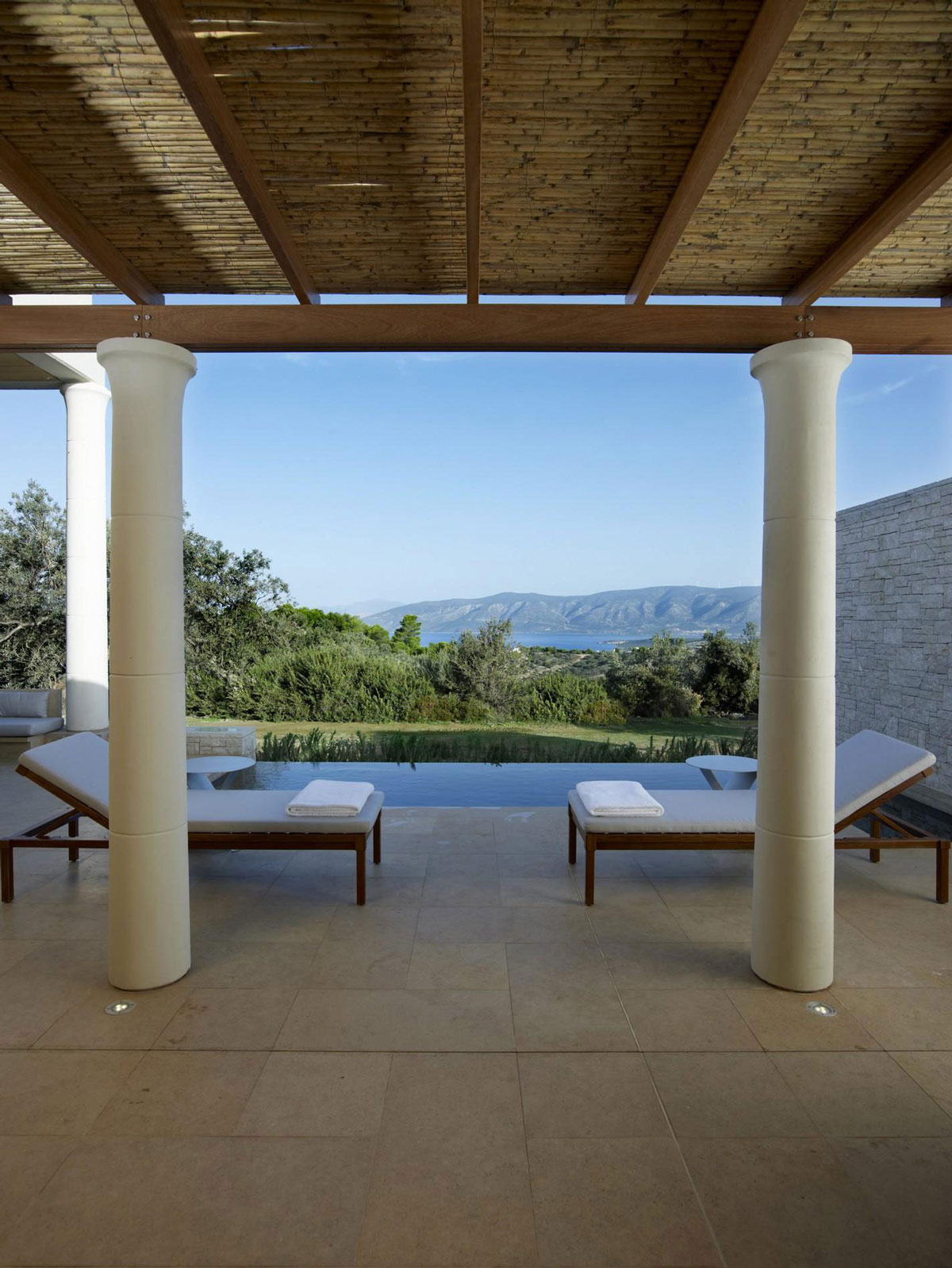 Views, Terrace, Infinity Pool, Elegant Villas in Kranidi, Greece