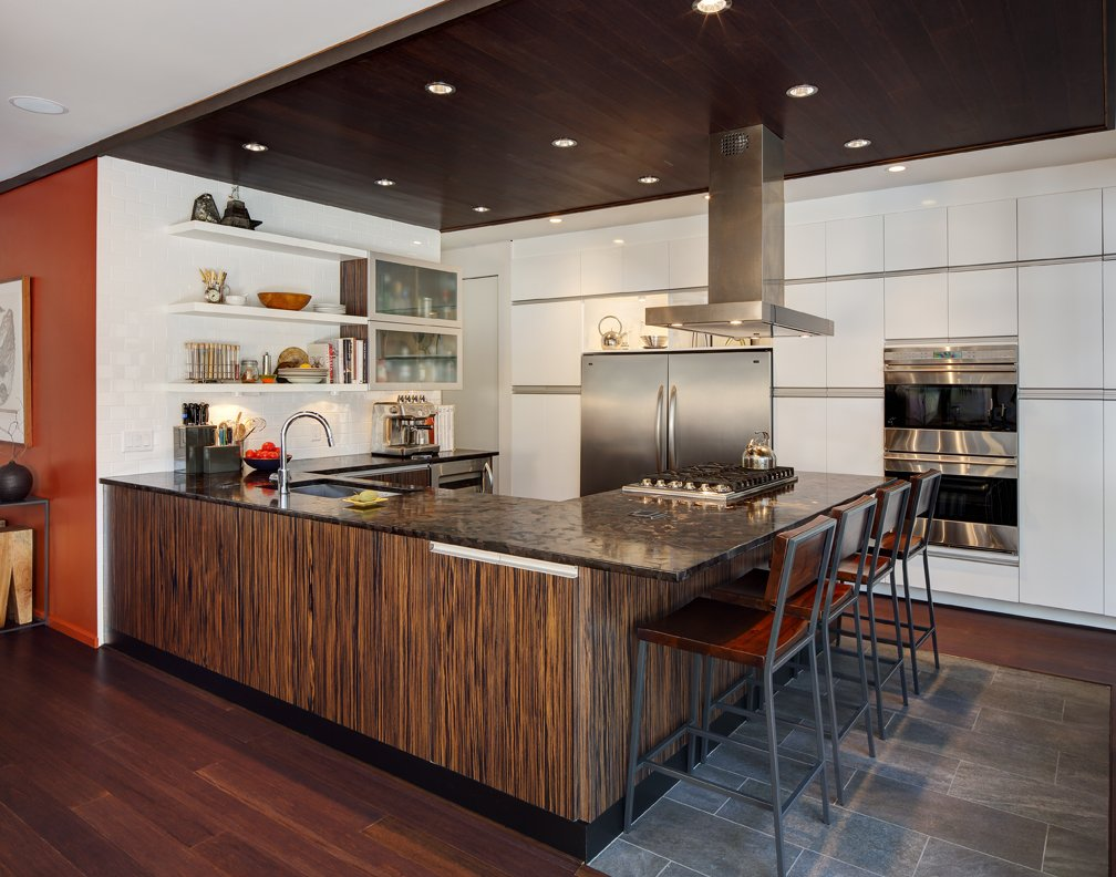 Kitchen, Breakfast Bar, Home Renovation in Madison, Wisconsin