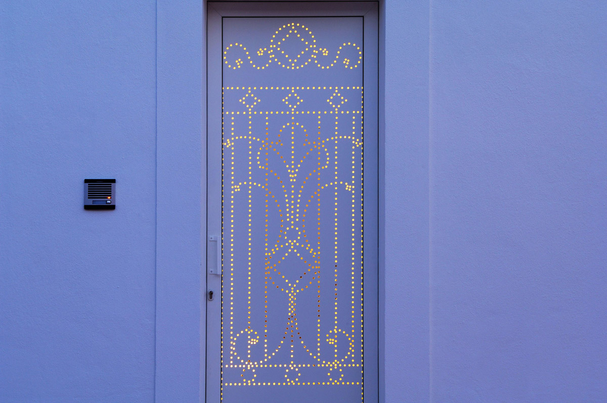 Lighting, Front Door, Home in Silves, Portugal