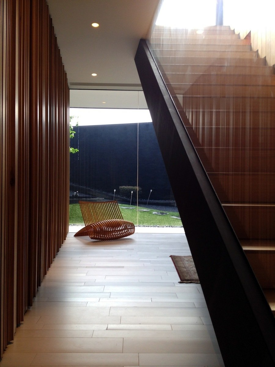 Modern Staircase, Lakeside Family Home in Singapore