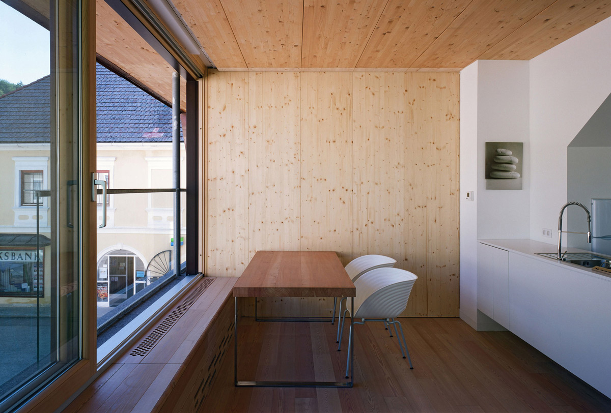Movable Partition Wall, Apartment House in Ybbsitz, Austria