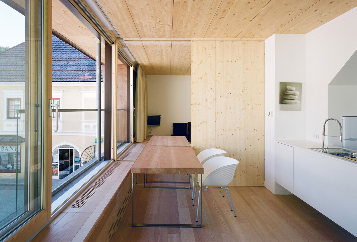 Partition Wall, Apartment House in Ybbsitz, Austria