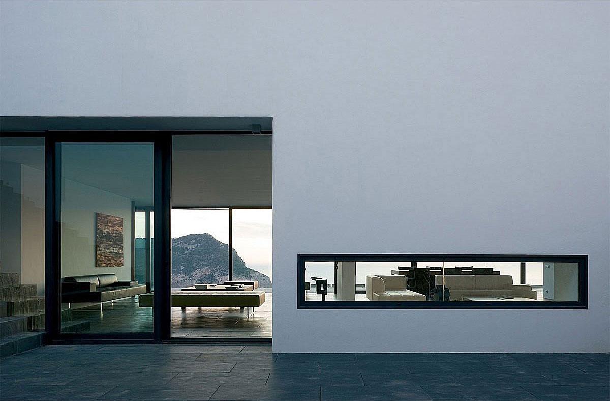 Patio Doors, Terrace, Stunning Clifftop Home in Ibiza, Spain