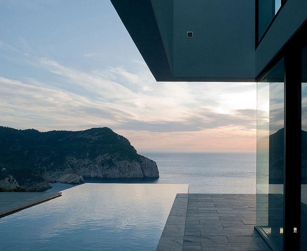 Pool, Terrace, Stunning Clifftop Home in Ibiza, Spain