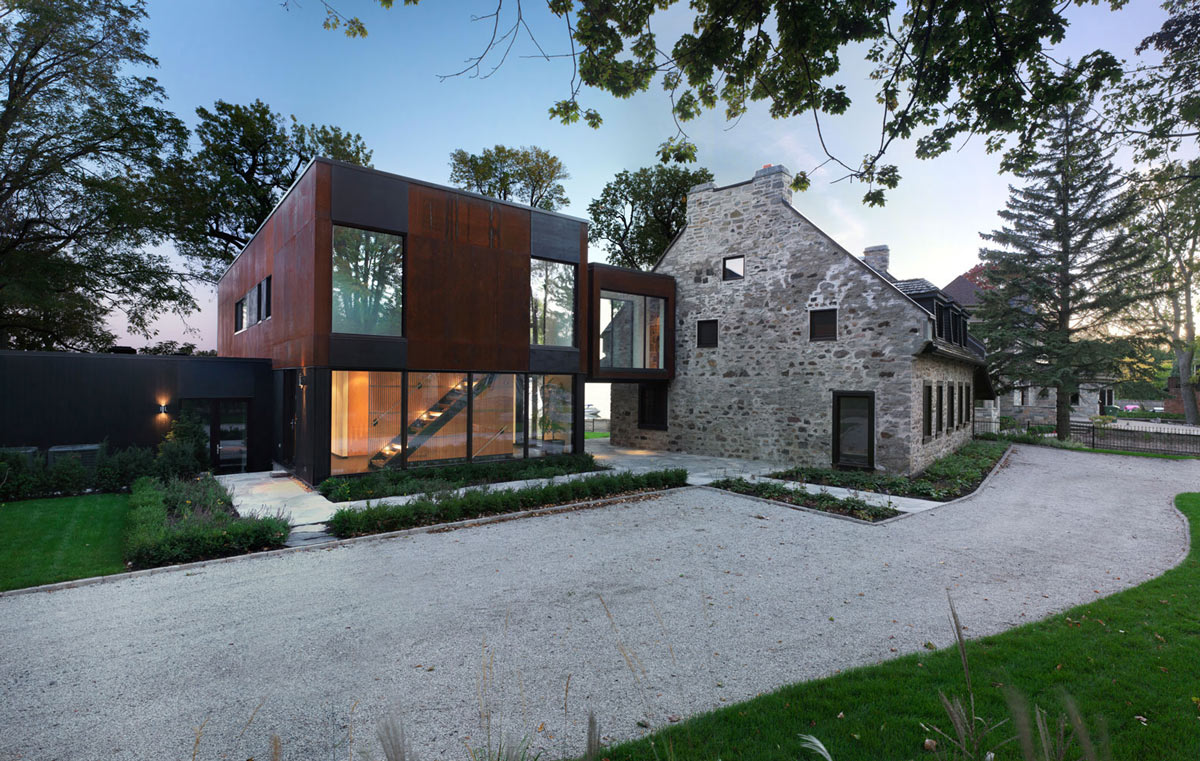 Renovation and Addition in Dorval, Canada