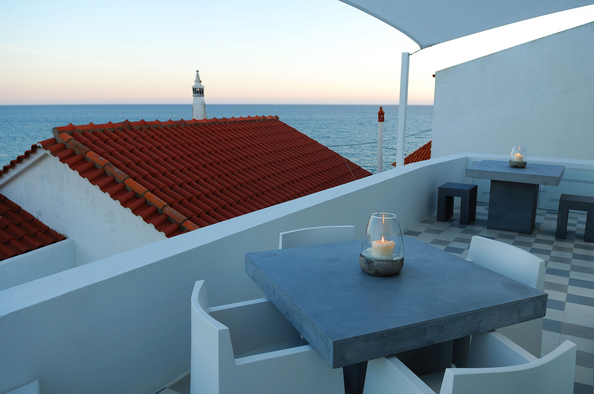 Roof Terrace, Home in Silves, Portugal
