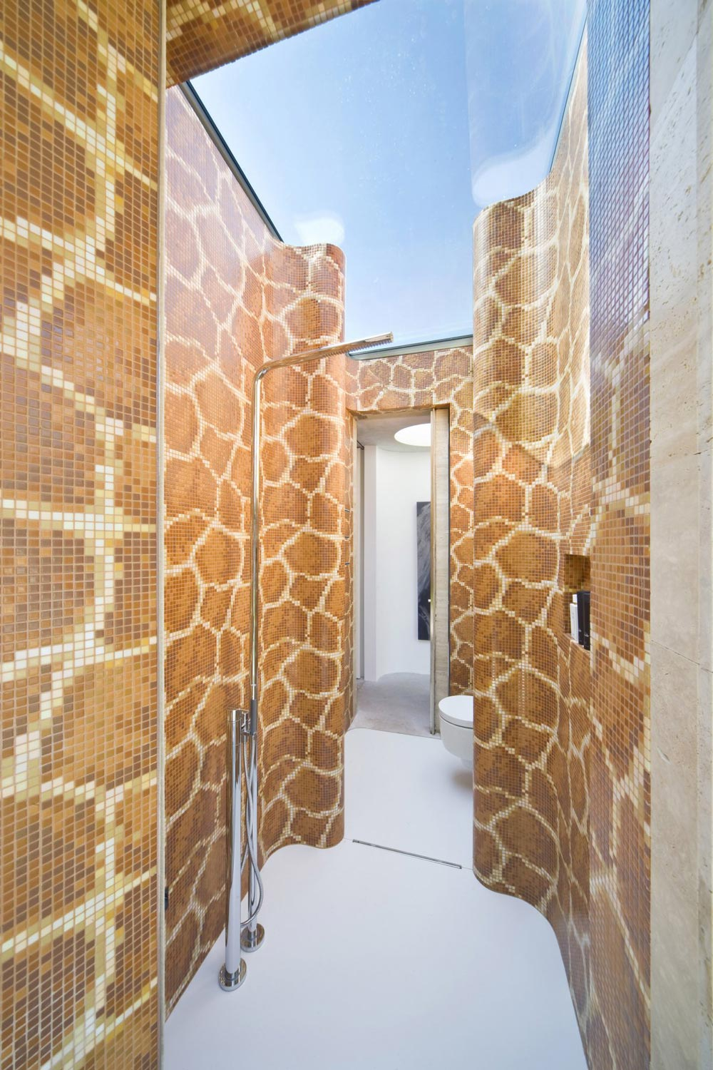 Shower Room, Extension and Renovation in Eindhoven, The Netherlands