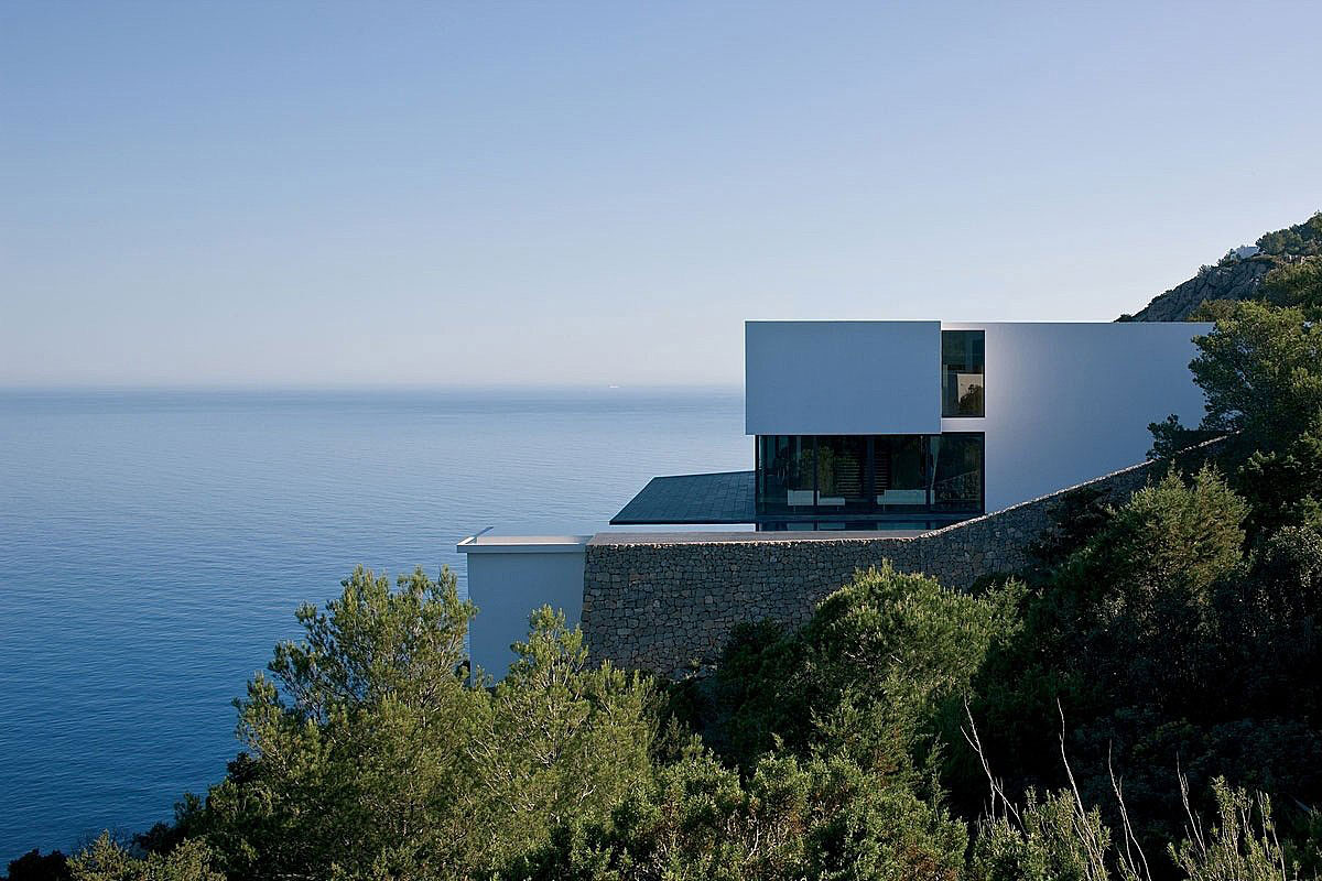 Stone Walls, Stunning Clifftop Home in Ibiza, Spain