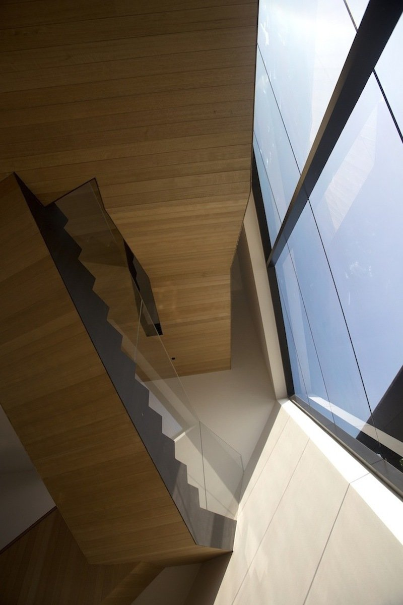 Vertical View, Stairs, Lakeside Family Home in Singapore
