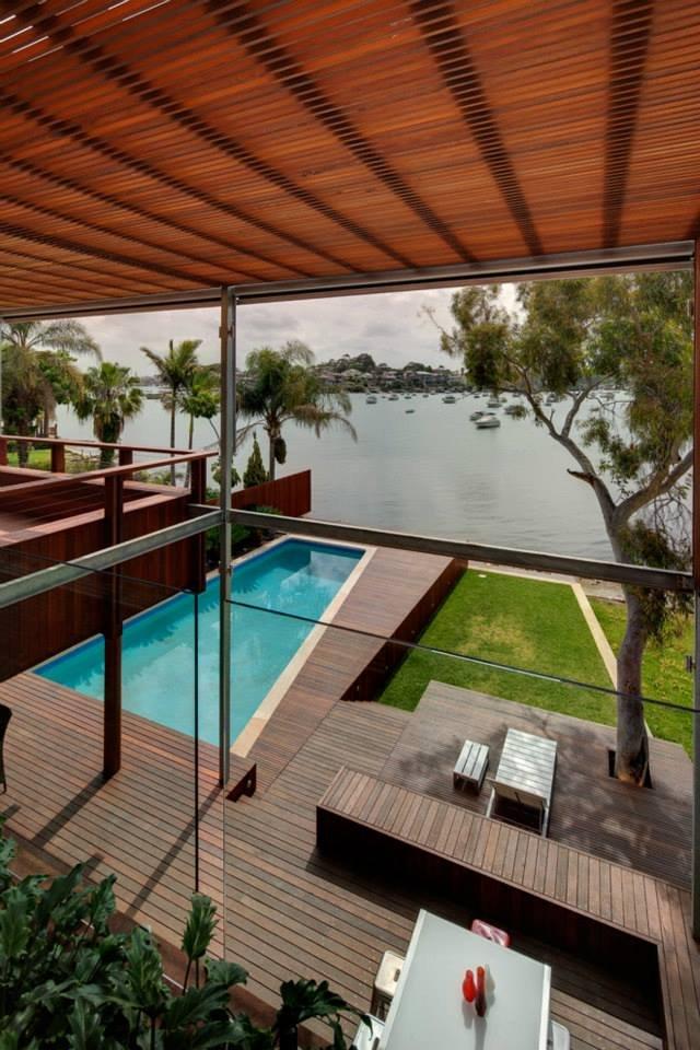 Water Views, Modern Waterfront Home in Sydney, Australia