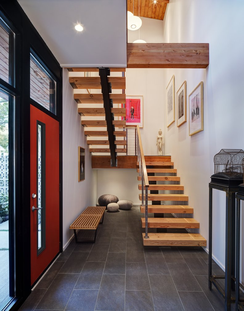Wood & Metal Stairs, Home Renovation in Madison, Wisconsin