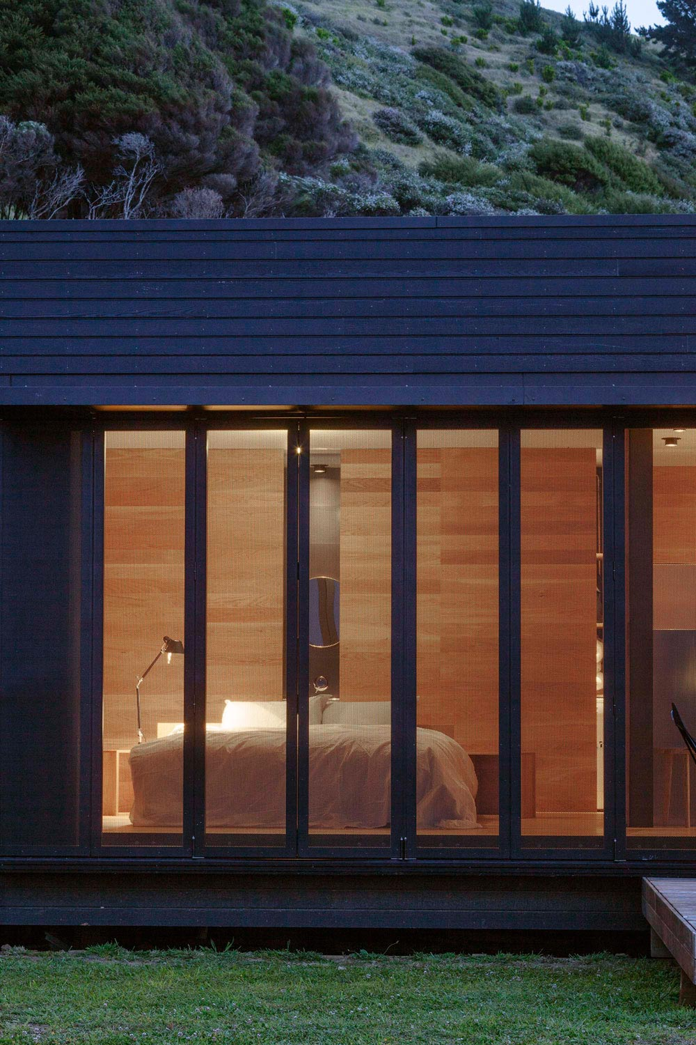 Bedroom, Cottage on Great Barrier Island, New Zealand