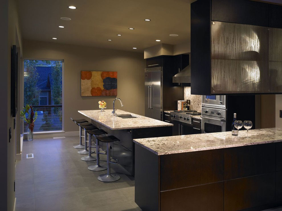 Breakfast Bar Kitchen Island Stunning Home On The Columbia River In Washington