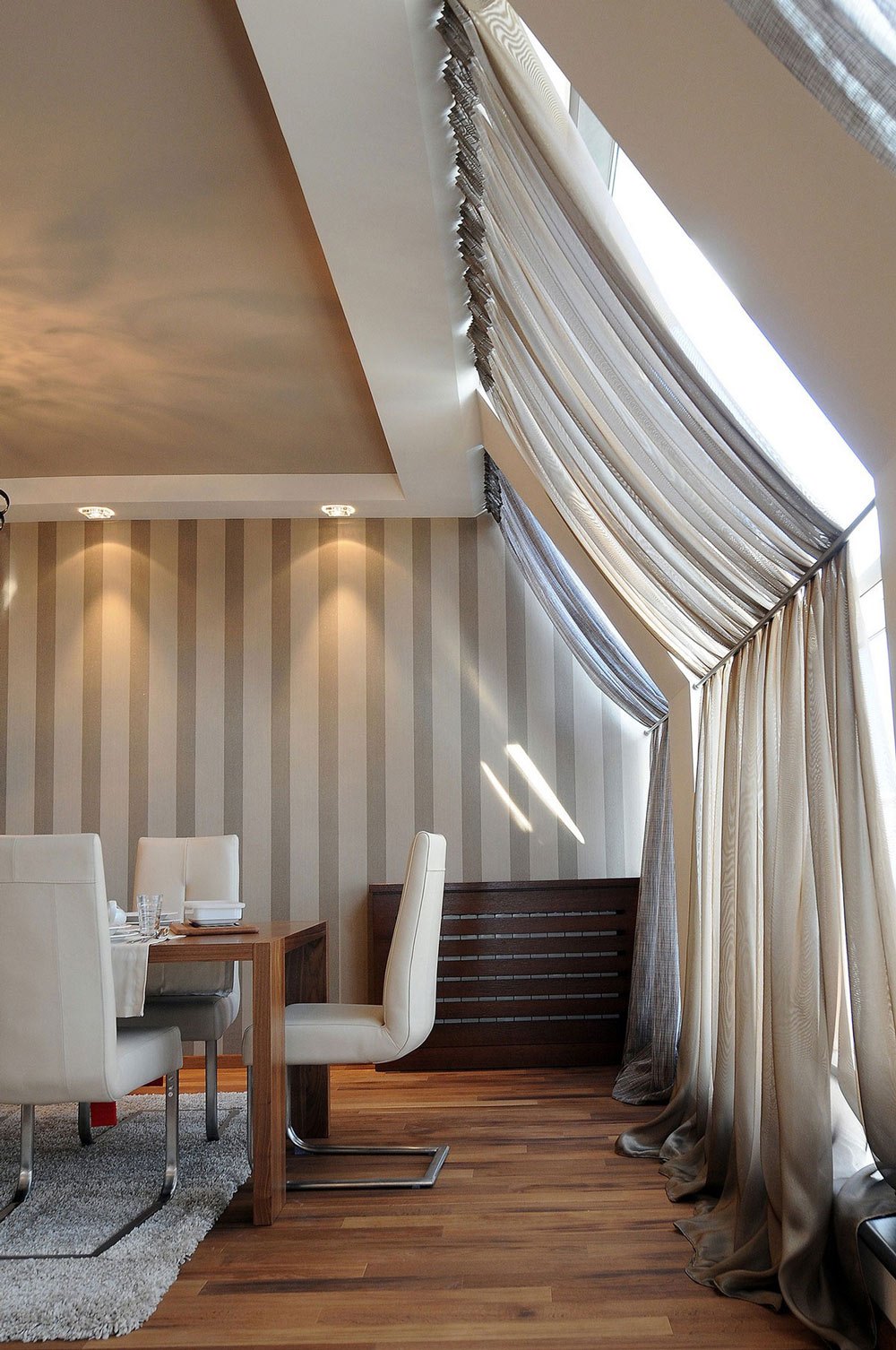 Dining Space, Penthouse in Belgrade, Serbia