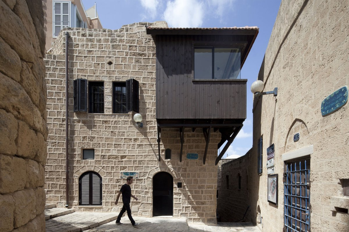 Entrance, Contemporary Renovation in Old Jaffa, Tel Aviv