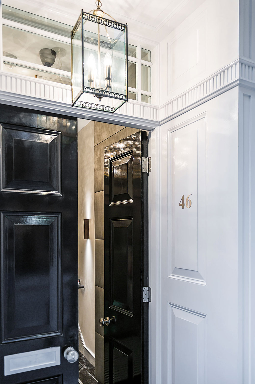 Front Door, Penthouse Apartment in St James's, London