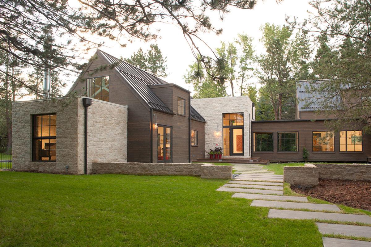 Garden Path, Modern and Rustic Home in Boulder, Colorado