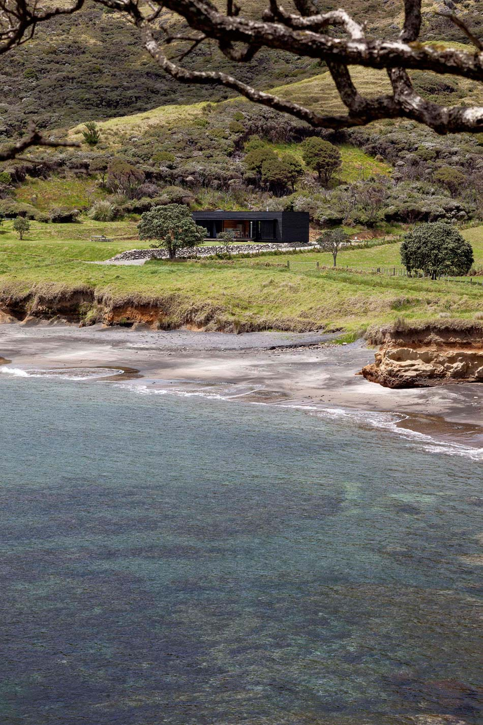 Isolated, Cottage on Great Barrier Island, New Zealand